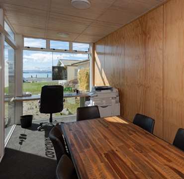 Lone Pine Building Shipping Container Office - Tekapo